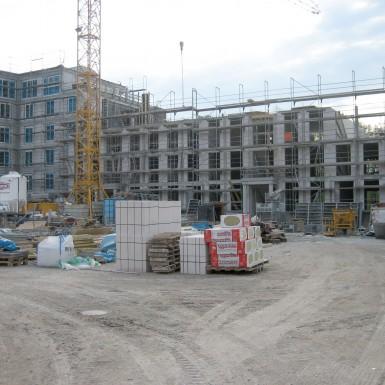 Hofgarten im Bau