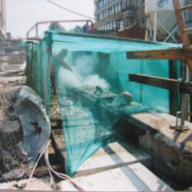 Abbruch mit Wasserabbruch (2)