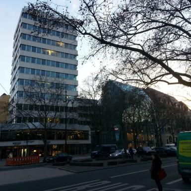 Ansicht Turmhaus nach dem Umbau