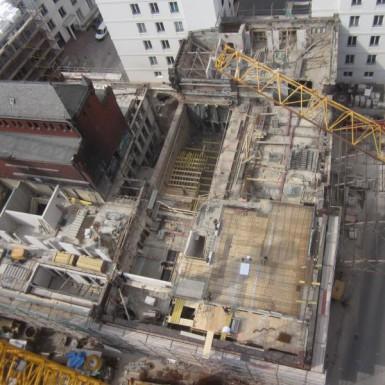 Kessel- und Maschinenhaus im Bau (1)