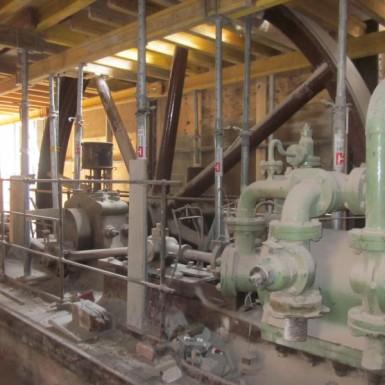 Maschinenhaus Schwungrad