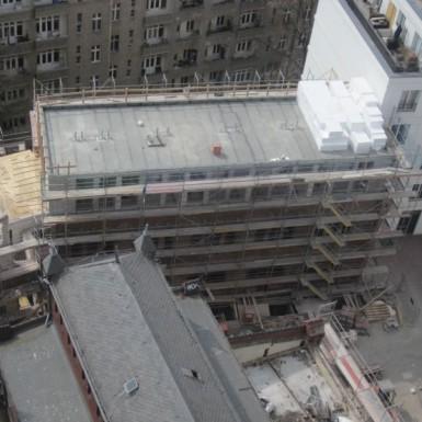 Werkstatt im Bau